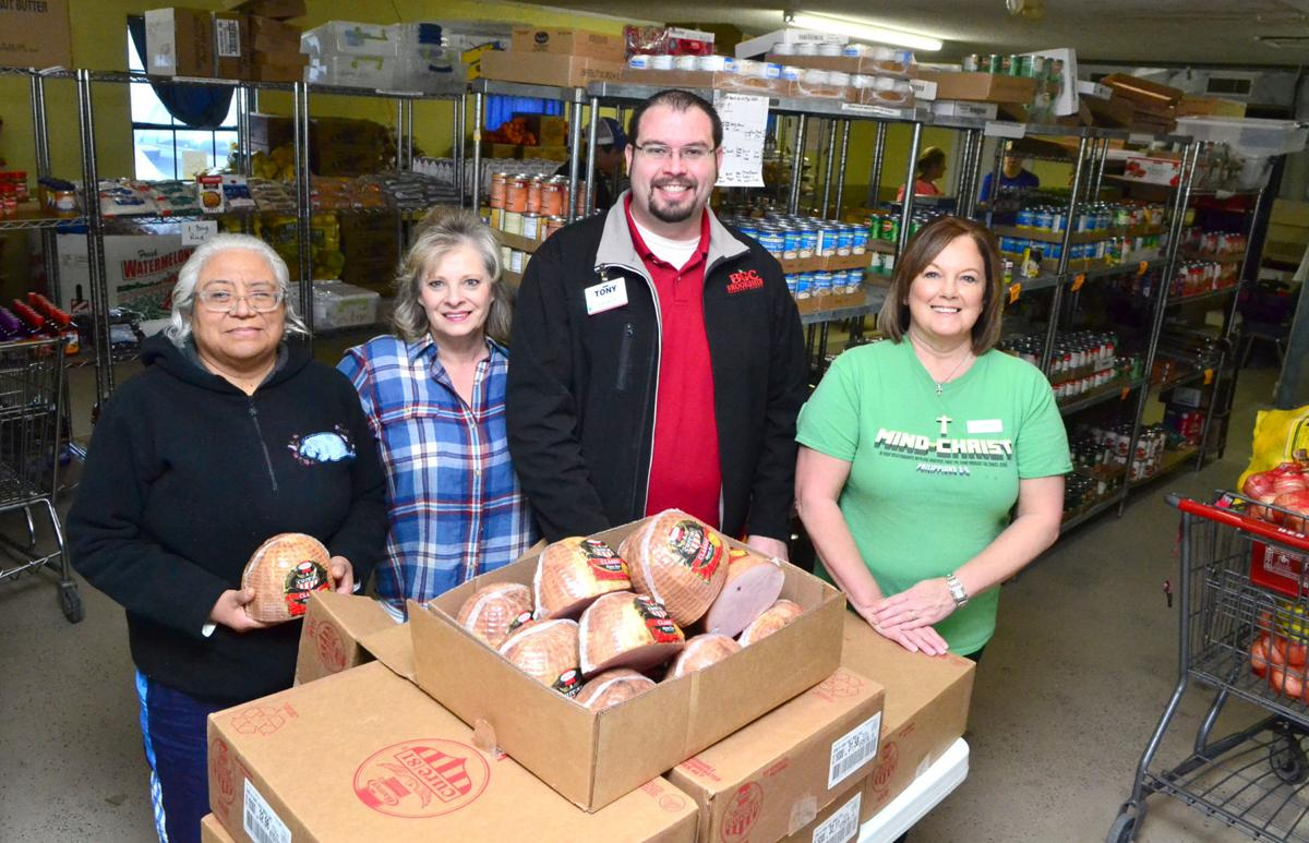 Robinson pantry donation