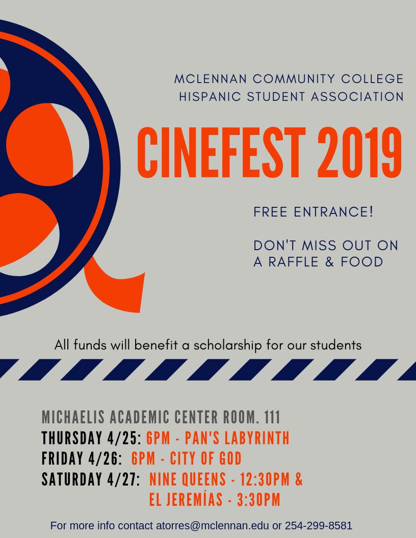 MCC Spring Film Fest