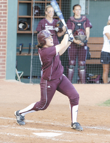 ALL-BIG 12 SOFTBALL TEAM: No time wasted by powerful Aggie
