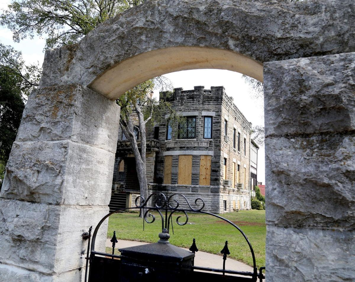 oxford scholar buys historic cottonland castle, distressed austin
