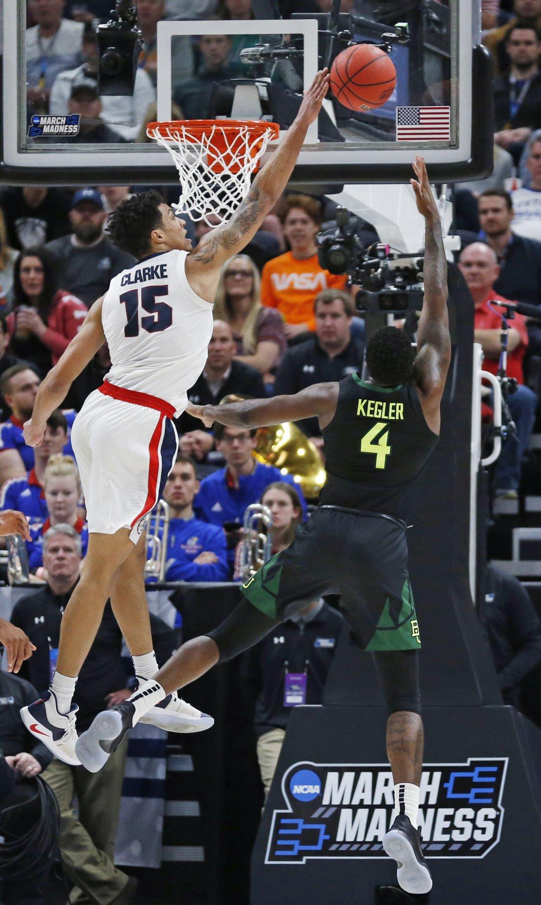 NCAA Baylor Gonzaga Basketball