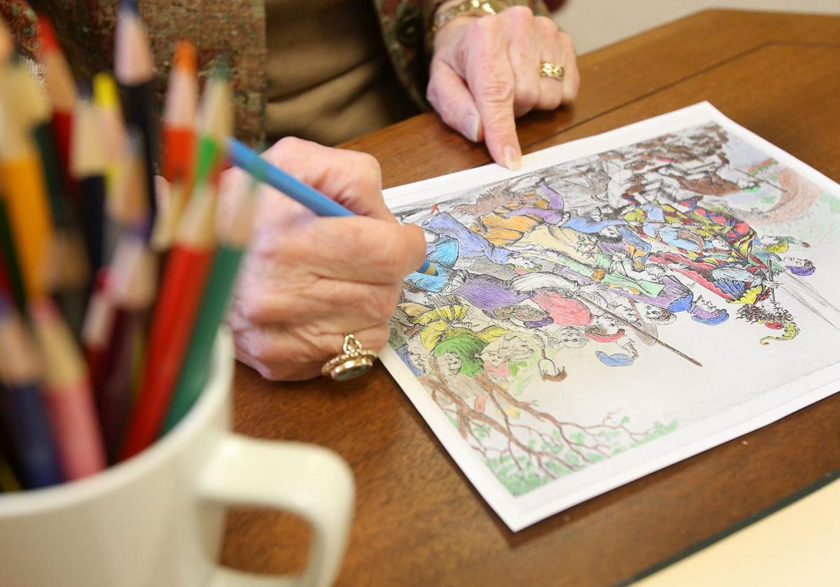 Staying In The Lines Adults Find Creative Outlet Coloring Books