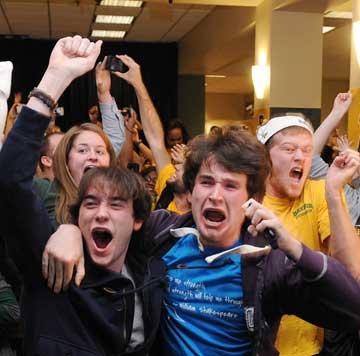 Baylor students rejoice over Heisman victory
