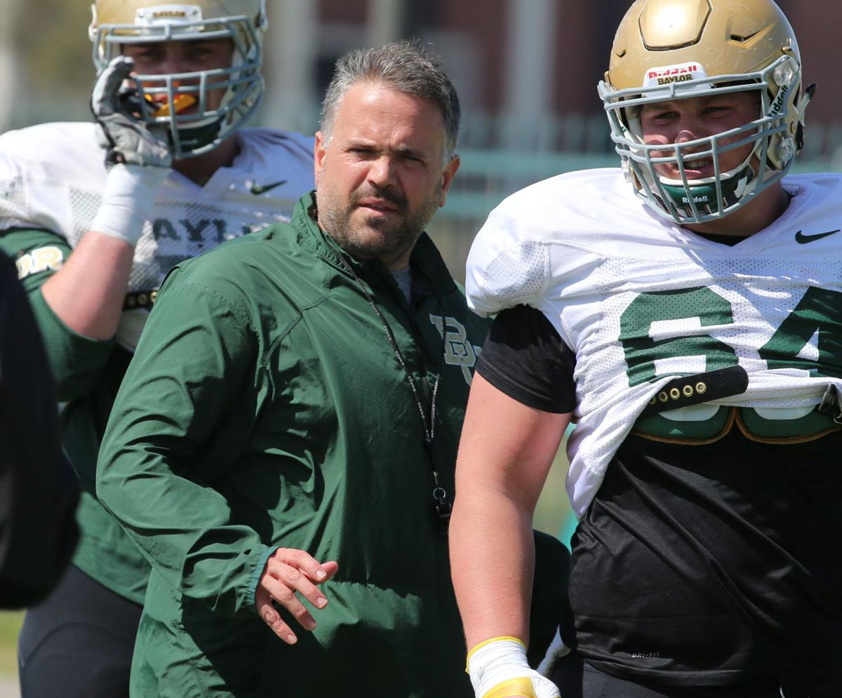 Bell Relishing Shot To Coach Baylor S Offensive Line Baylor Wacotrib Com