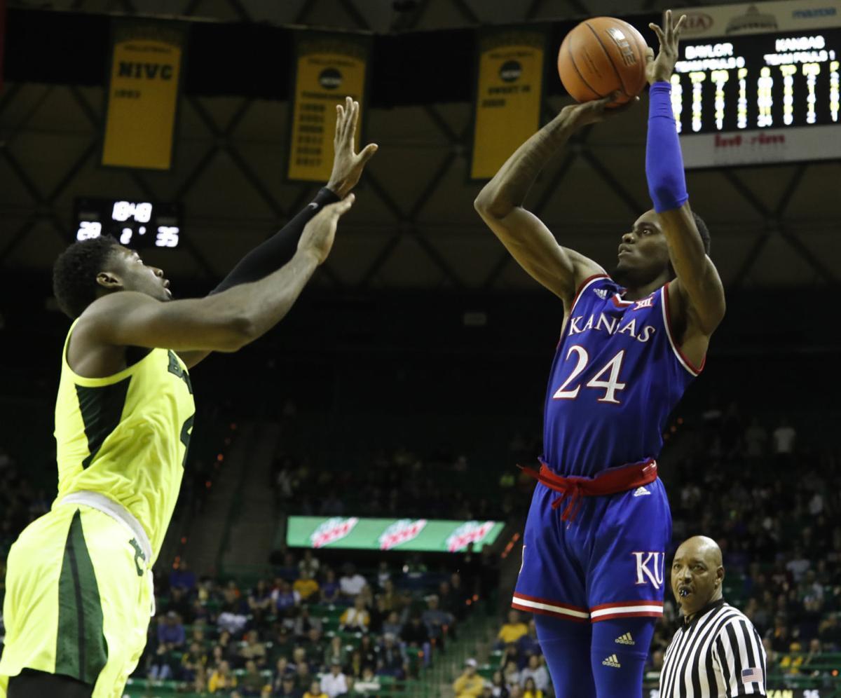 Kansas Baylor Basketball