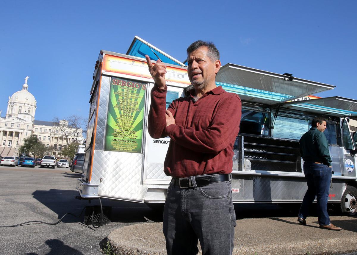 Food Truck Parking Lot Austin