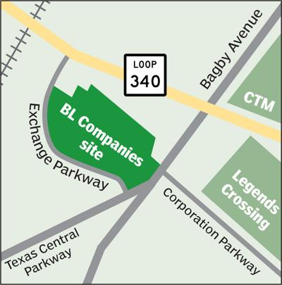 Exchange Parkway site graphic