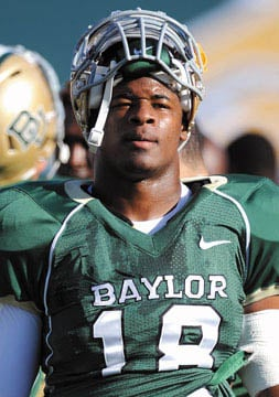 Baylor's DE Elliott transfers to Central Arkansas