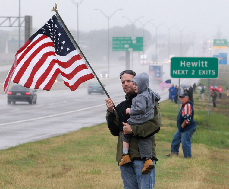 Chris Kyle funeral procession in Waco | News | wacotrib.com