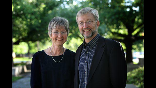 Diana and David Garland
