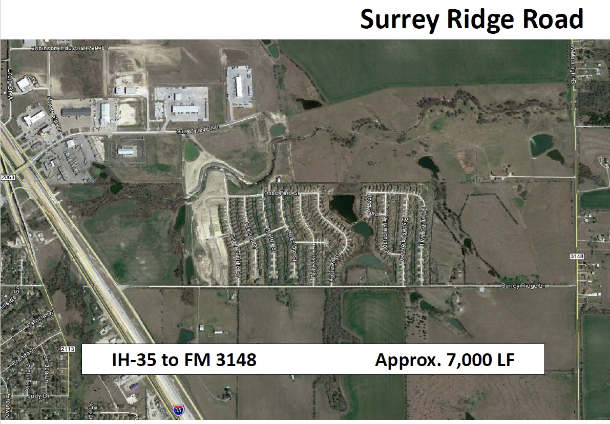 Surrey Ridge Lane project