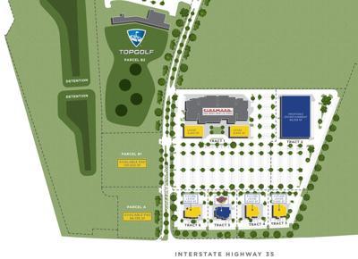 Cottonwood Creek site plan