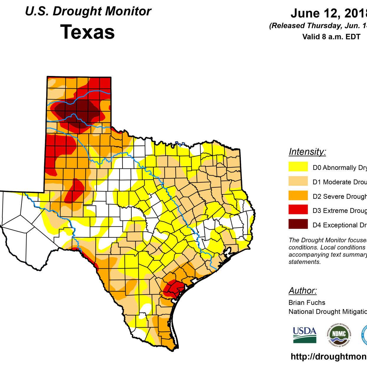 Drought Taking Hold In Mclennan County Much Of State Business