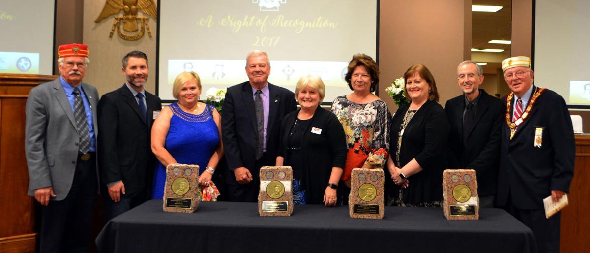 Masonic recognition award