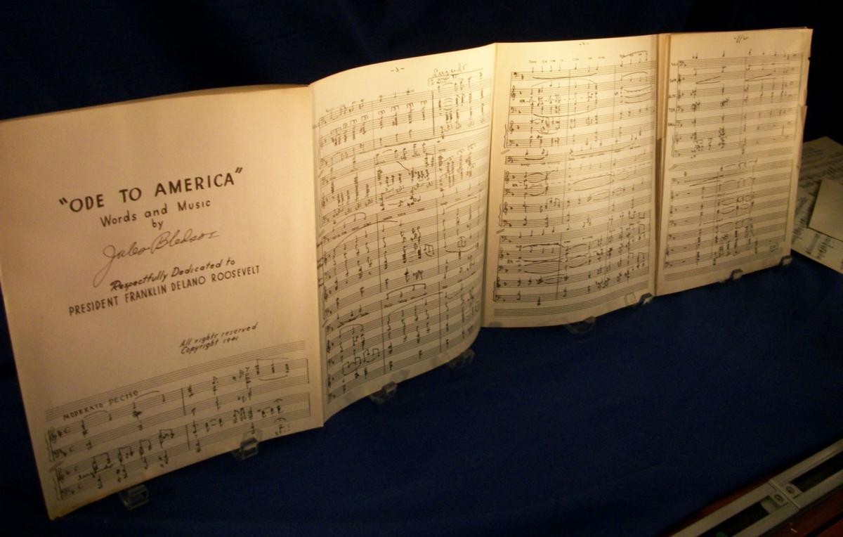 Bledsoe songs - sheet music