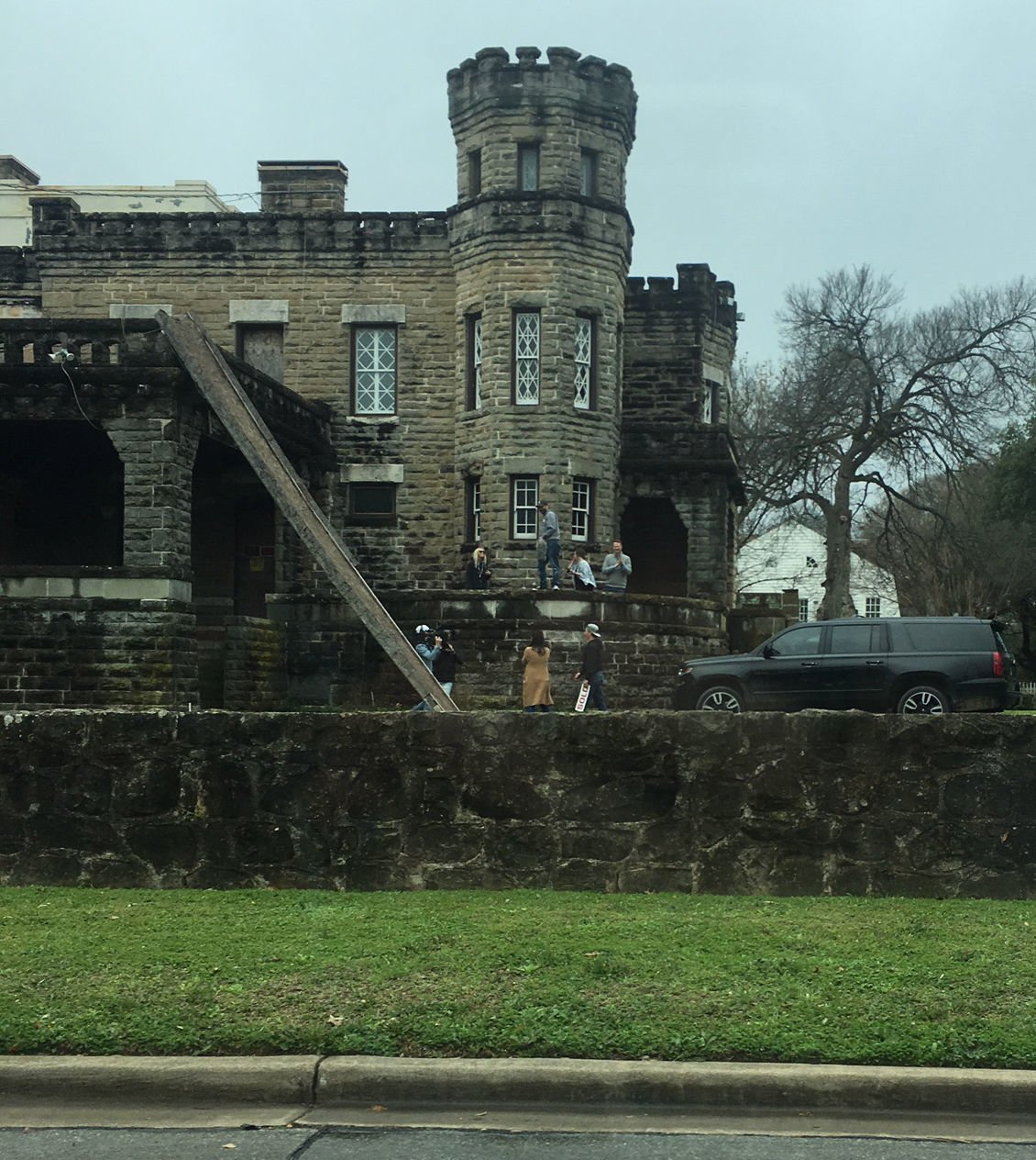 The castle on Austin Avenue