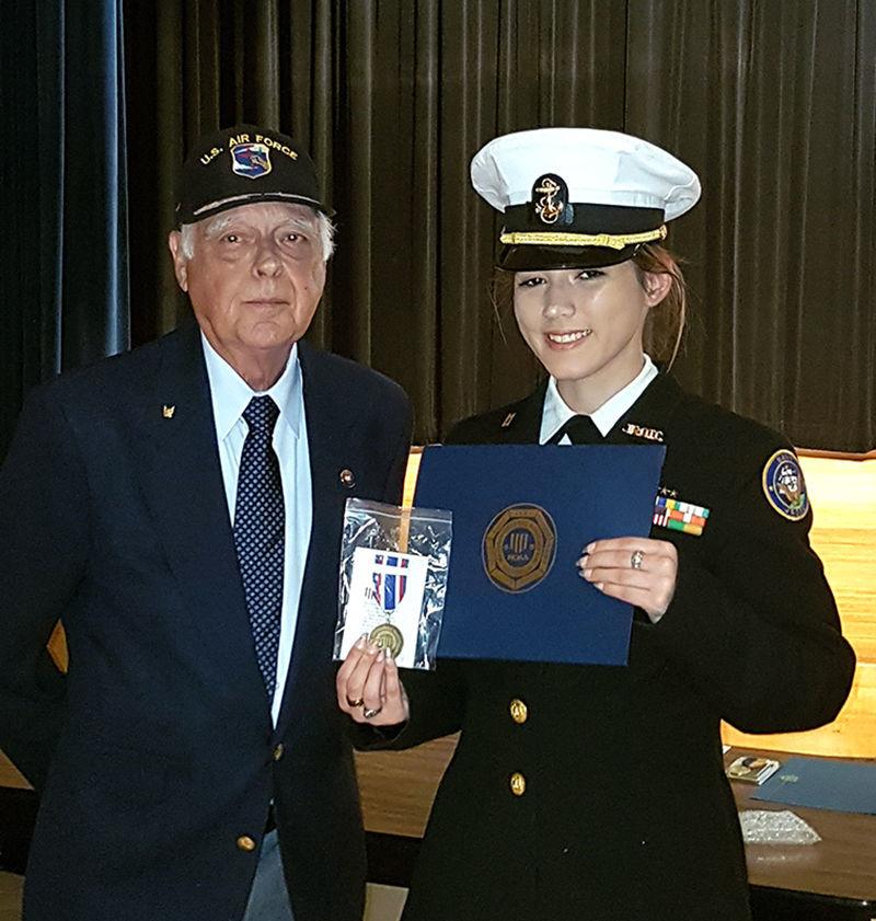 Navy JROTC winner