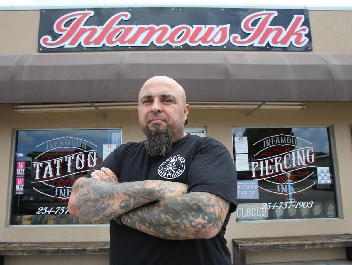 Waco Tattoo Parlor Faces Up To 14 000 In Fines For Premature Reopening Local News Wacotrib Com Artists include tom begley, nate bjork, billy raike, devin stubbs, steve sims, krissy bergquist, ian olsen and. waco tattoo parlor faces up to 14 000