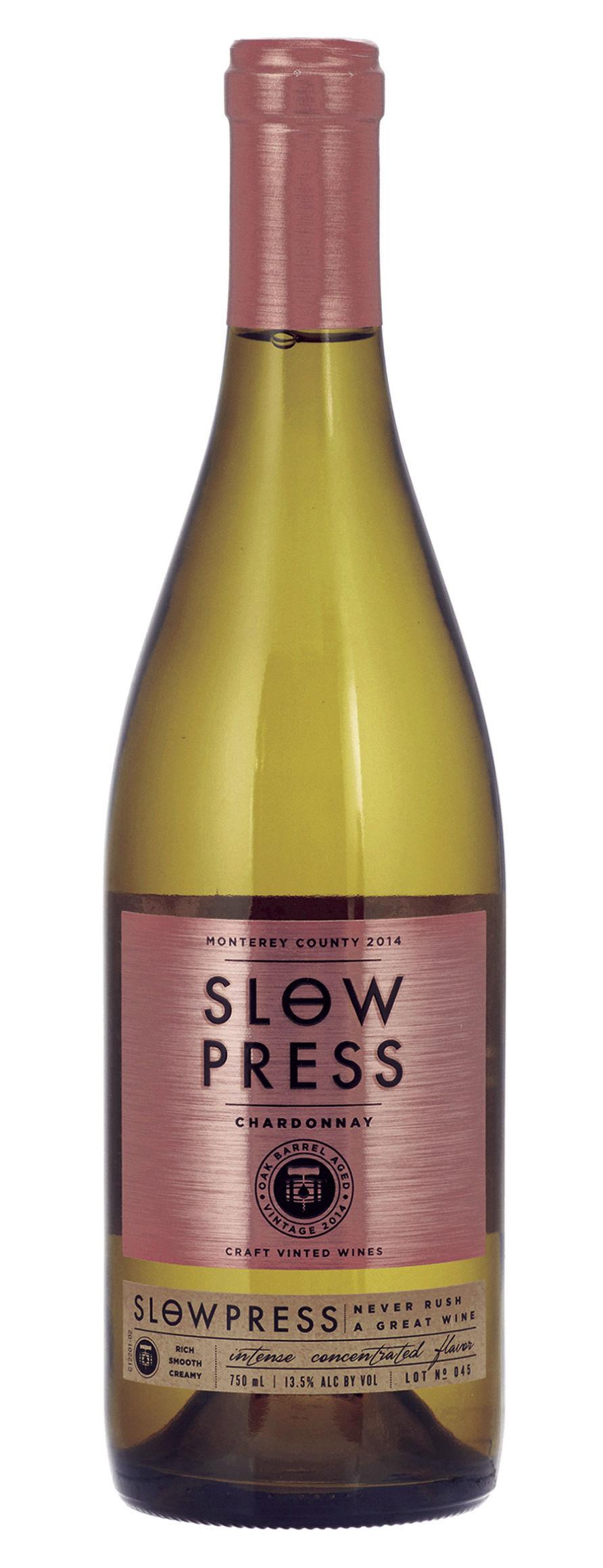 Slow Press Wines Chardonnay
