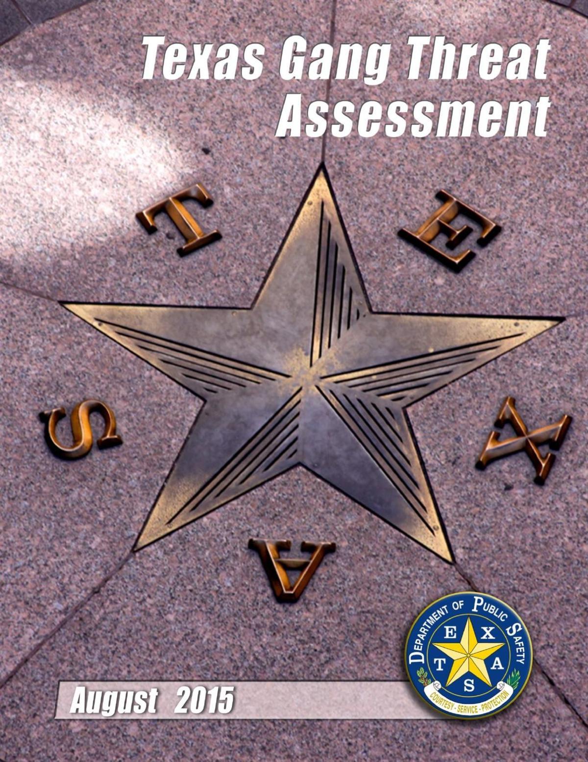 Texas Gang Threat Assessment - Aug. 2015