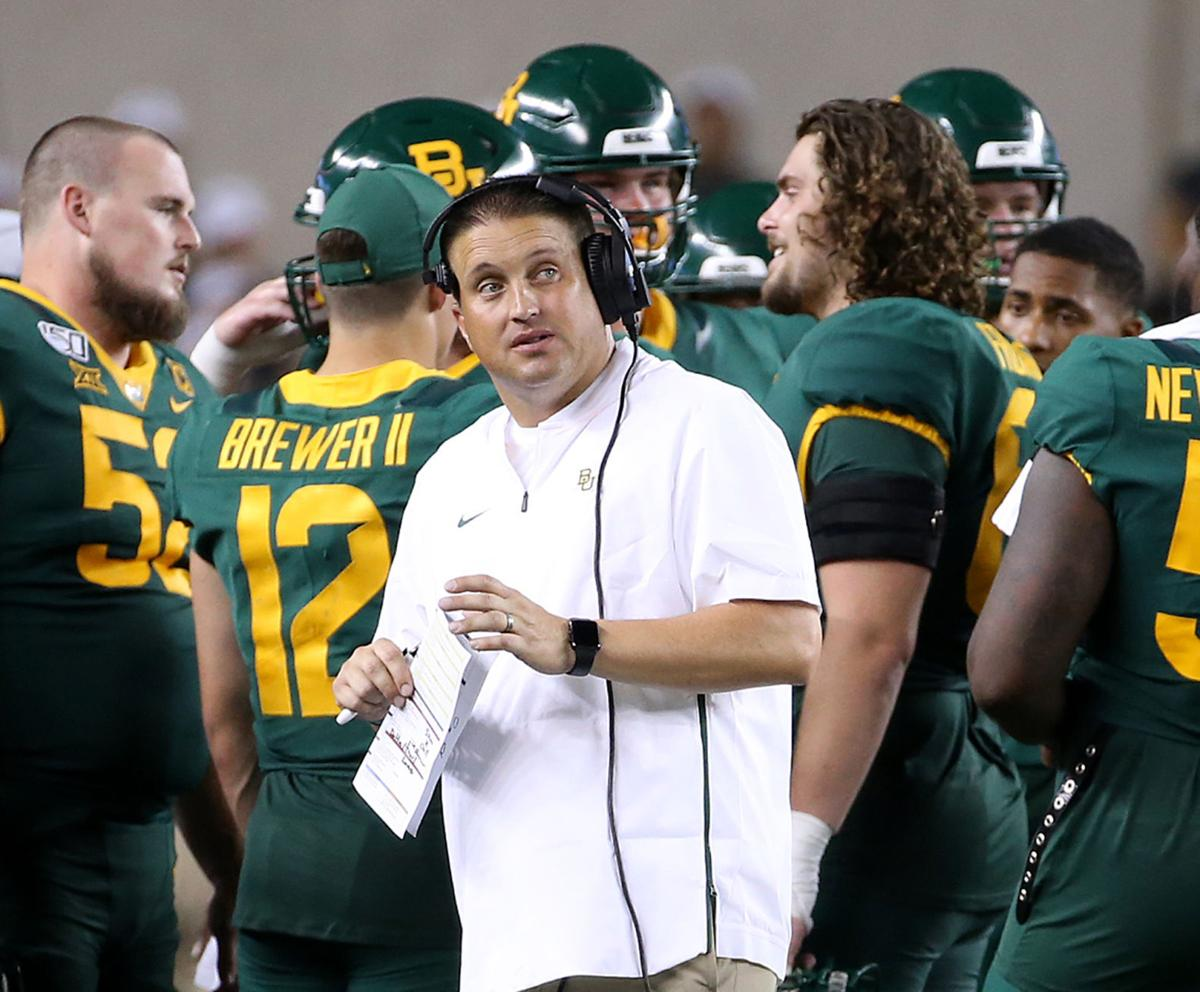 Returning Baylor Coaches Mcguire Bell Wetzel Ease Transition For Aranda Baylor Wacotrib Com