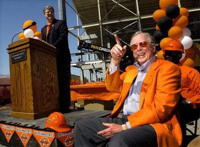 Boone Pickens stadium groundbreaking