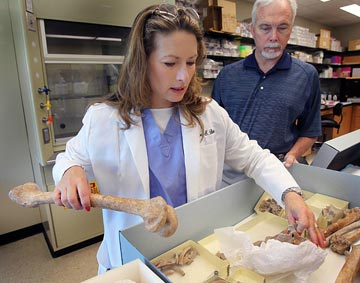 Baylor students aid in forensics project to identify dead