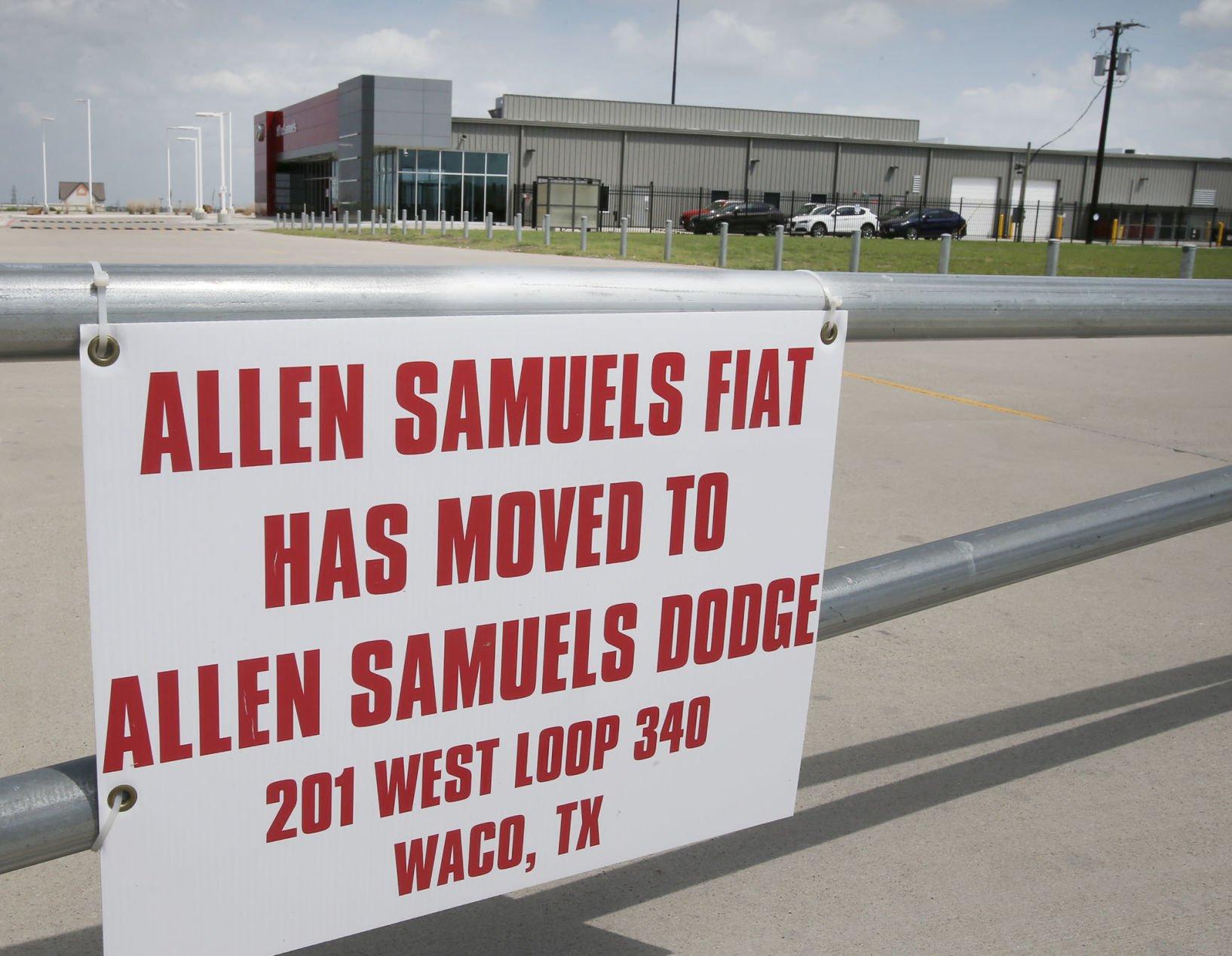 Dodge Dealership Waco Tx Luxury Allen Samuel Dodge Waconew And Used Source  · Volkswagen May Move Into Former Alfa Romeo Fiat Dealership