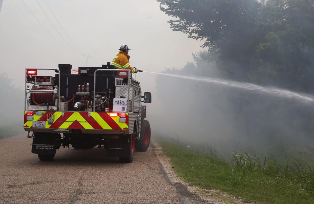 Downsville fire