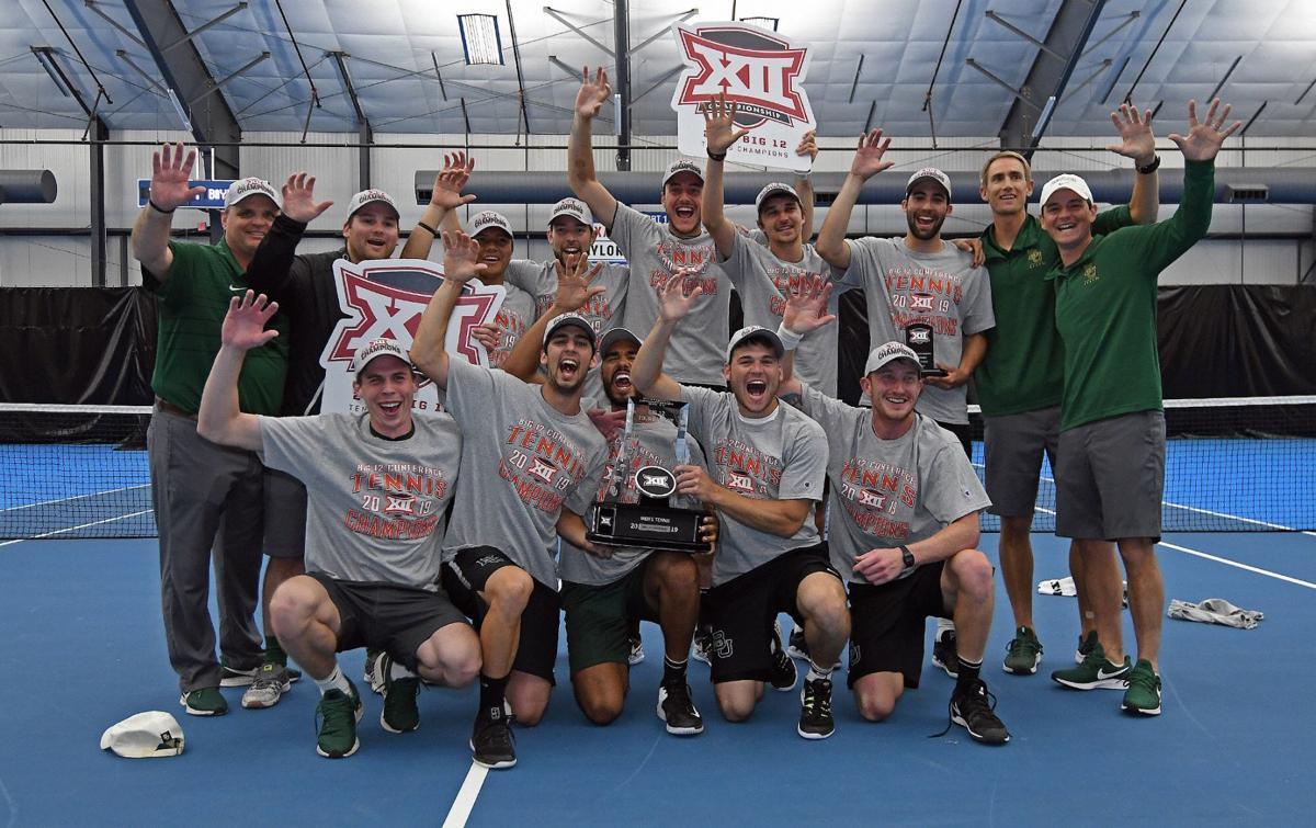 4a55a51b6f7754 BU men's tennis. The Baylor men's tennis team won their ninth conference  championship ...