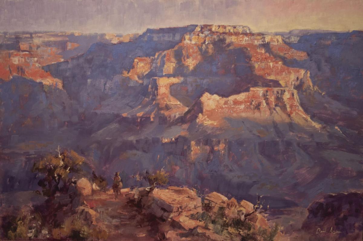 """Daniel Anz's """"Kaibab Trail'"""
