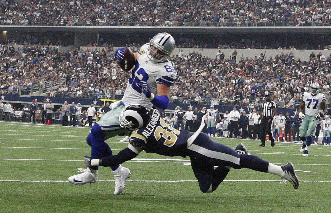 Rams Cowboys Football (copy)