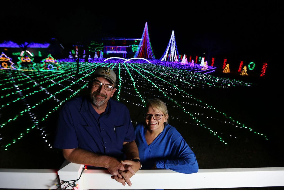 Christmas Lights Shine Bright Move To