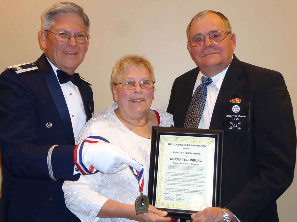 Norma Thronburg honor
