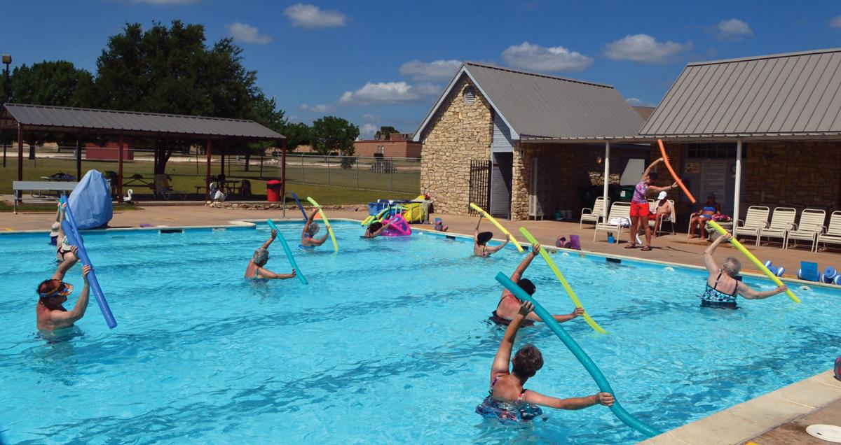 Staying active at life lutheran sunset ministries in clifton keeps residents engaged waco Clifton high school swimming pool
