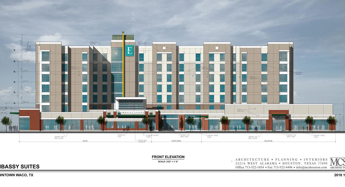 Full-service Emby Suites headed for downtown Waco   Business ... on
