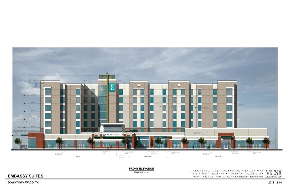 embassy suites rendering