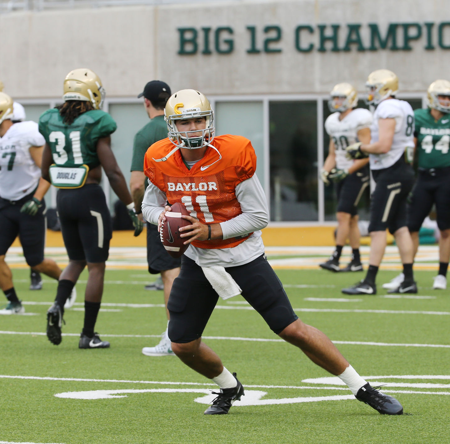 Baylor names Grandview's Zach Smith starting QB vs. Duke