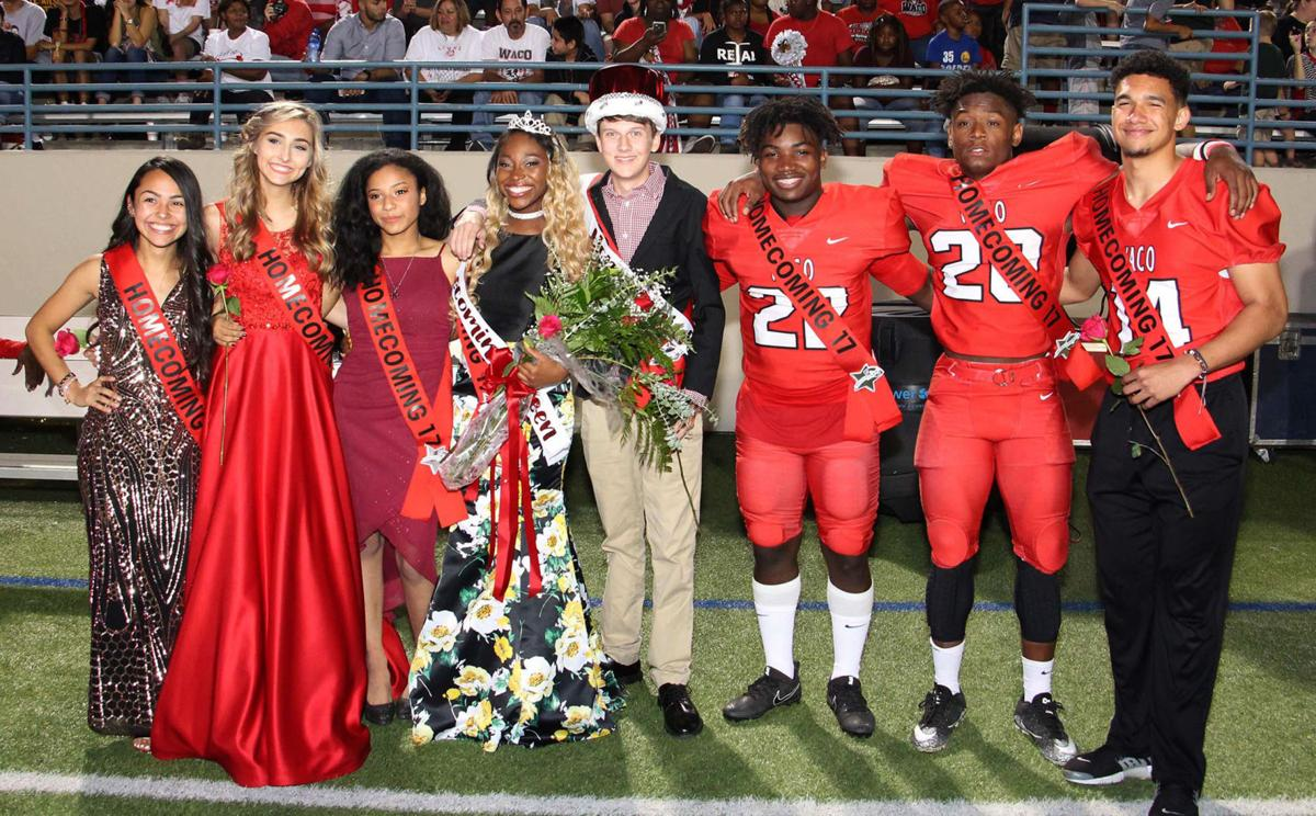 Waco High homecoming court