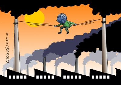 Cartoon - climate