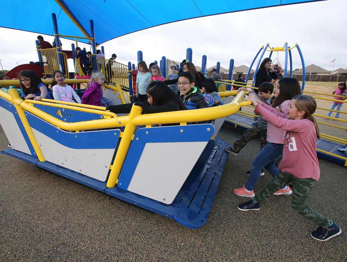 Hewitt Elementary playground