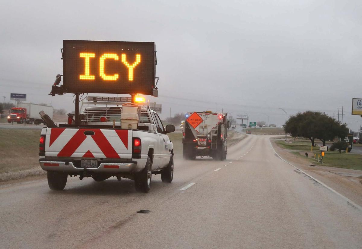 Waco area braces for potential ice problems early tuesday for Texas department of motor carriers