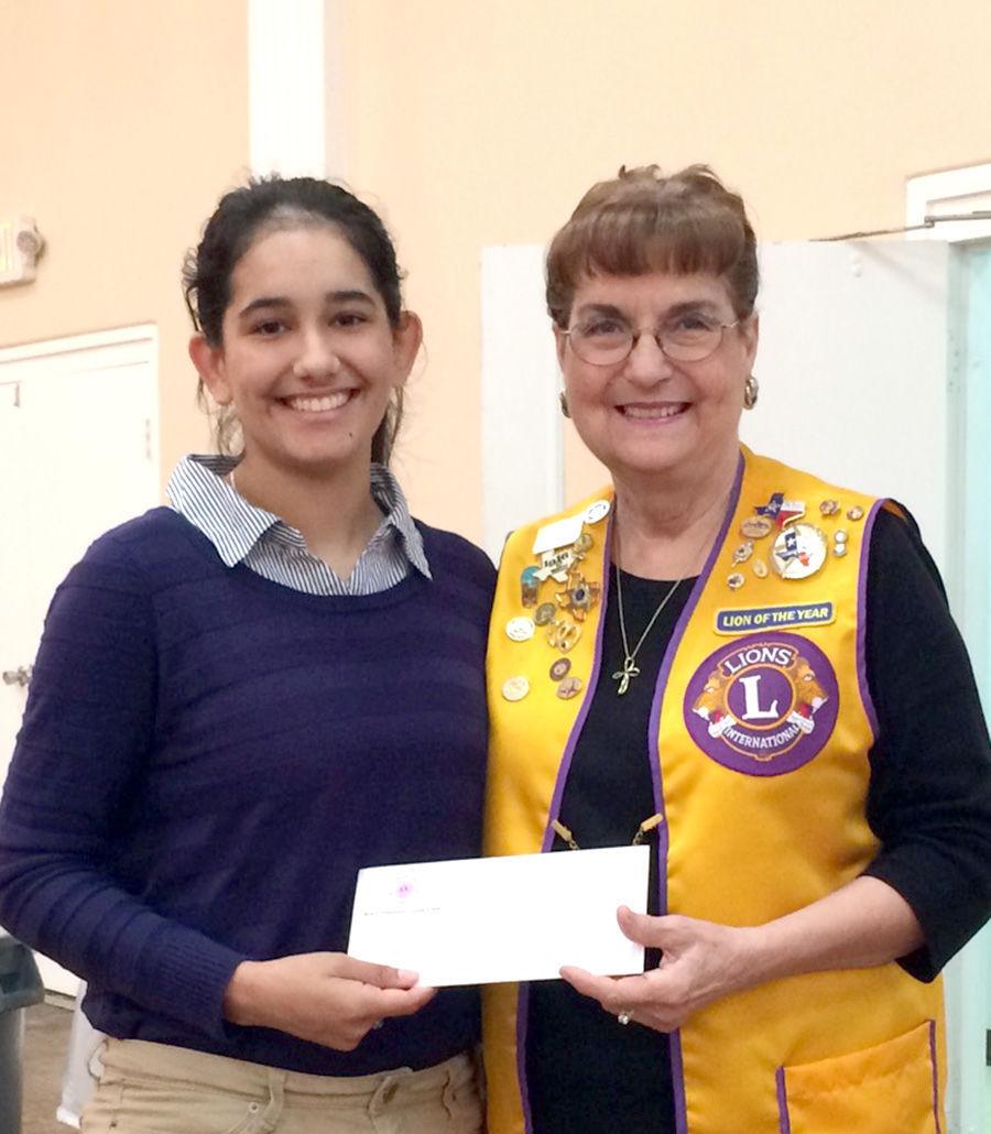 Kendrick Castillo Scholarship Established At School Of: Lions Club Presents Scholarships