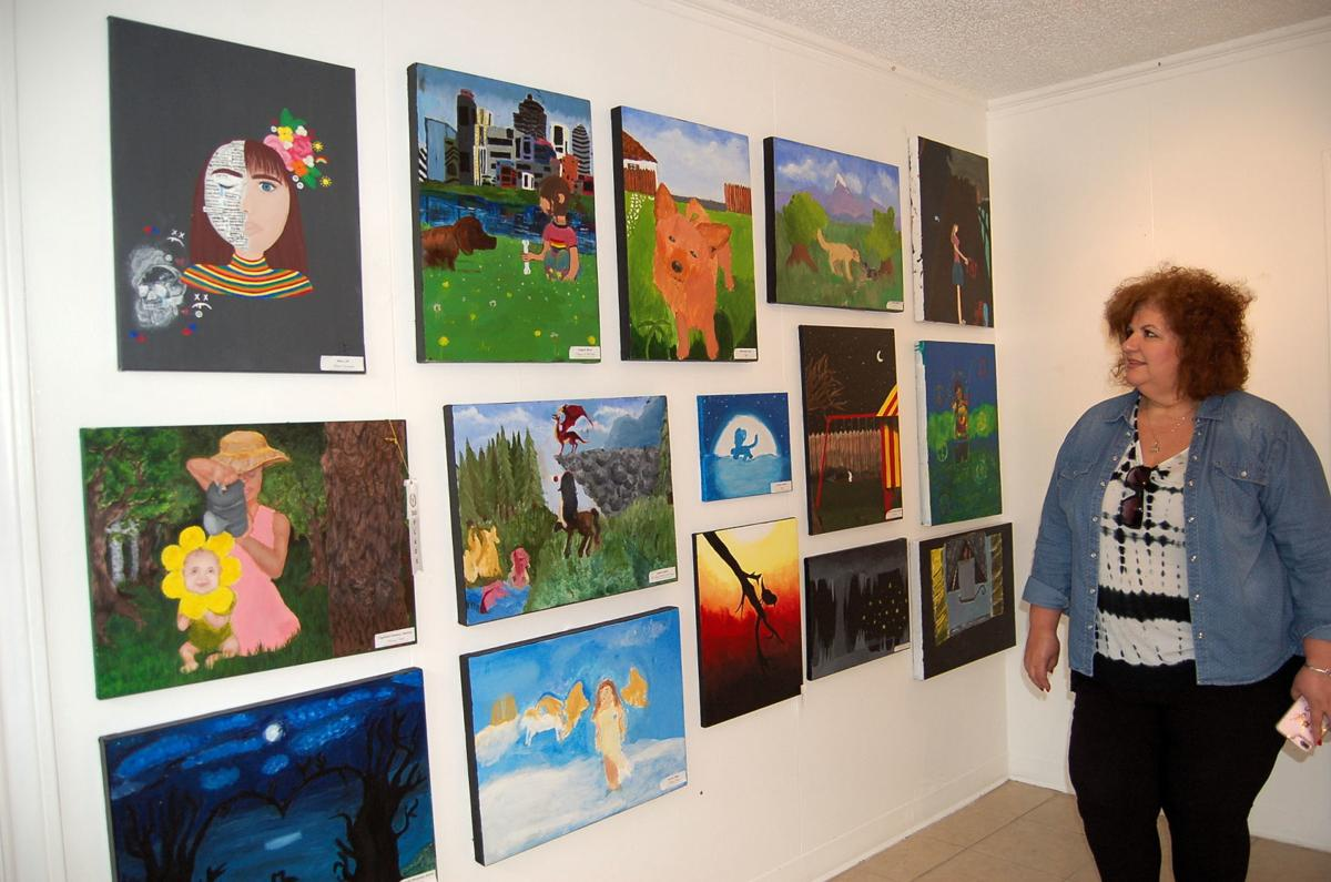 Art Forum of Waco WISD show - Monica Shannon