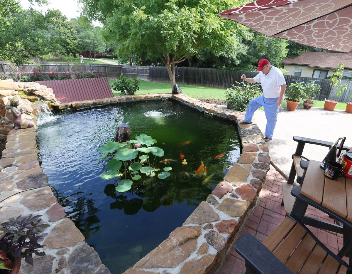 water garden society hosts tour of waco u0027s backyard ponds