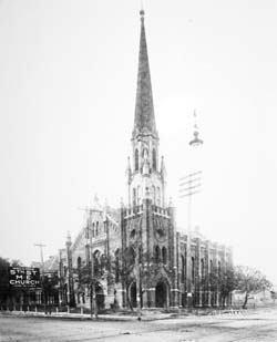 Brazos Past: First United Methodist Church marks 160 years in Waco