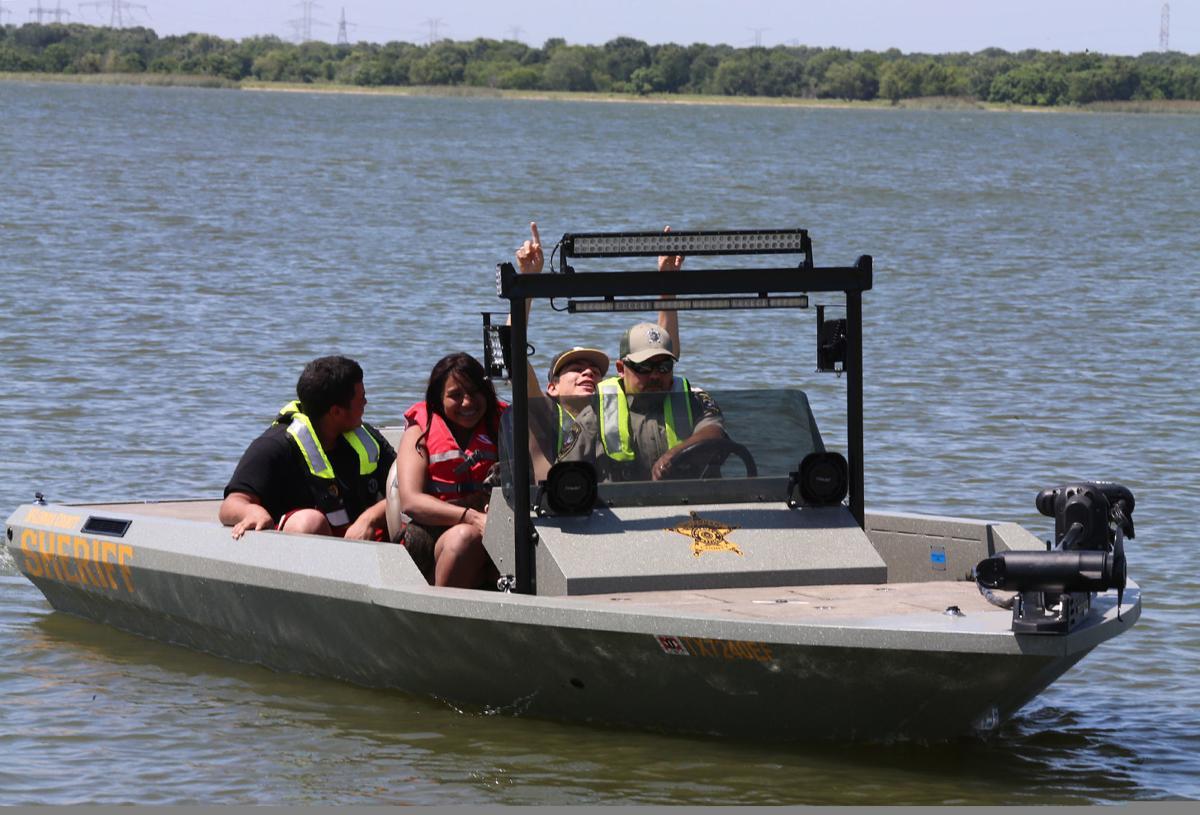 Sheriff's office boat