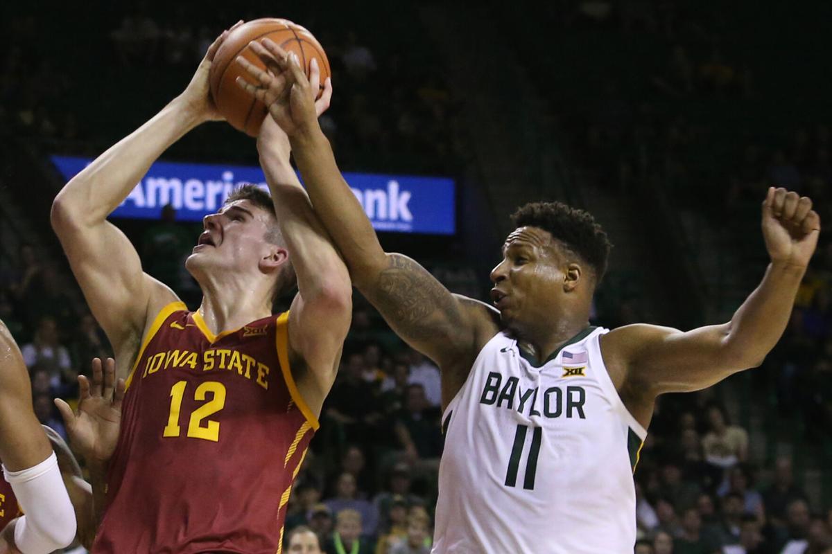 Iowa St Baylor basketball