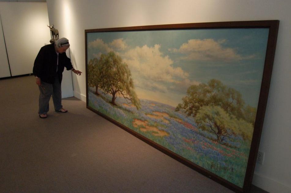 2 art exhibitions show past, future Waco artists ...