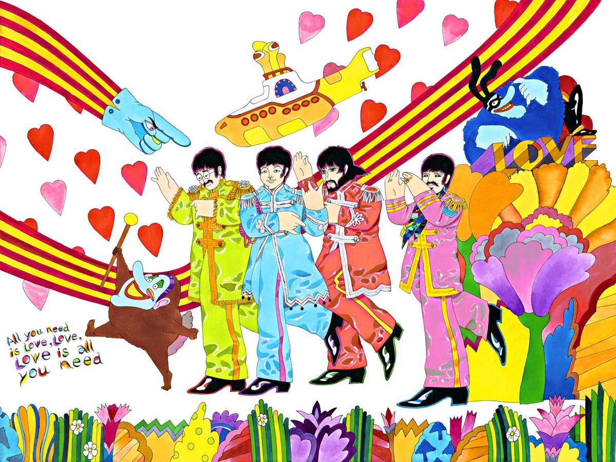 """""""Yellow Submarine"""" Beatles"""